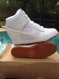 I will so wear these for my wedding , my kind of style #Nike #FashionSneakers
