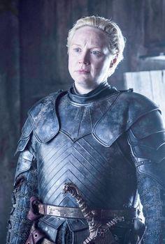 Gwendoline Christie as Brienne of Tarth – photo Helen Sloan/HBO Game of Thrones