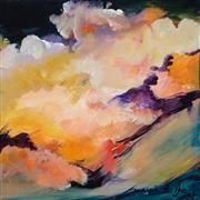 Original art for sale at UGallery.com | Cumulus by Margie Pye | : $375 | acrylic painting | http://www.ugallery.com/acrylic-painting-cumulus