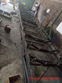 disaat kami membuat conveyor di jakarta