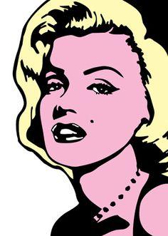 marilyn-monroe-pop-art-canvas-art-painting-3624-p.jpg (303×425)
