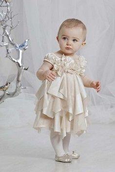 Biscotti Golden Elegance Holiday Dress (12 to 24 Months) / Cassie's Closet Boutique
