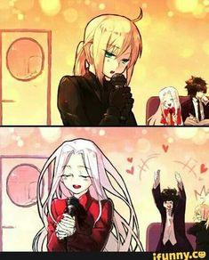 Gudako / Jeanne D'arc【Fate/Grand Order】 Anime Meme, Manga Anime, Fate Stay Night Series, Fate Stay Night Anime, Fate Zero, Fan Art Anime, Fate Anime Series, Anime Fairy, Cool Animations