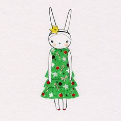 """""""Merry Christmas everyone Have a fabulous time!  bunny kisses Fifi Lapin xxx"""""""