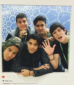 CNCO Cnco Band, Boy Bands, I Love You All, Just Love, A Gomez, Like Instagram, Instagram Posts, Cnco Richard, Memes Cnco