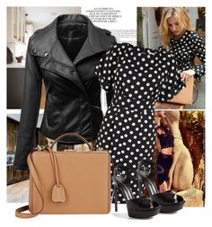 """""""Polka Dots"""" by sophia561 ❤ liked on Polyvore featuring Steve Madden, Sigerson Morrison, Gucci, Yves Saint Laurent, Vanity Fair, Closet and Mark Cross"""