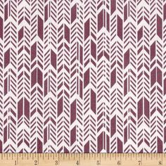 Sunprint Feathers Purple from @fabricdotcom  Designed by Alison Glass for Andover, this cotton print is perfect for quilting, apparel and home décor accents.  Colors include white and dusty purple.