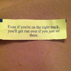 Gotta Love Fortune Cookie logic Love Fortune Cookie, Get Running, Life Lessons, Quotations, Lyrics, Cards Against Humanity, Sayings, Quotes, Style