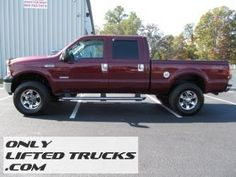 2006 Ford F-250 SD Diesel Lariat Lifted Truck