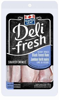Maple Leaf® Deli-fresh™ Hickory Smoked Black Forest Ham