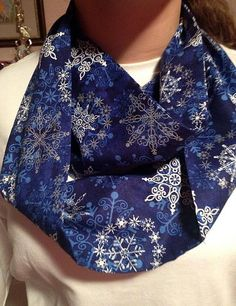 These beautiful Infinity Scarfs are perfect for those cold mornings at the bus stop, dressing up your favorite outfit, or for Mommy & Me photo