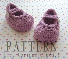 Mary Jane Shoe Pattern