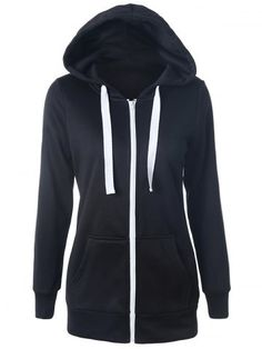 GET $50 NOW | Join RoseGal: Get YOUR $50 NOW!http://www.rosegal.com/sweatshirts-hoodies/casual-drawstring-long-sleeve-zipper-807735.html?seid=9240413rg807735