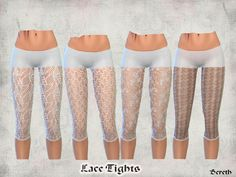 Bereth's Lace Leggings