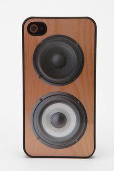 Hoparlor iPhone 4/4S Kabi - URBAN OUTFITTERS | Hipnottis  Daha fazlası  http://www.hipnottis.com/oyuncak-hobi/urban-outfitters-hoparlor-iphone-4-4s-kabi