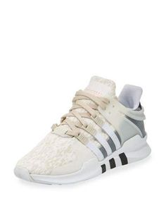 Adidas Equipment Support Knit Sneaker, Clear Brown/White/Gray