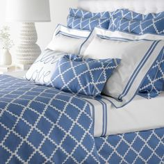 Love Matouk bedding (and it's machine washable!)