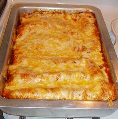 Rach's Blog: Chicken Enchiladas