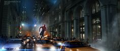 The Amazing Spider-man :5th Ave Chase