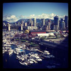 #Vancouver San Francisco Skyline, Vancouver, Travel Inspiration, Stuff To Do, Canada, River, Spaces, Usa, World