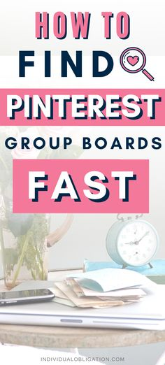 Want to find the best Pinterest group boards for bloggers? Check out this list of Pinterest group boards methods you can use to join the best Pinterest boards for your blog niche. You'll also find the best Pinterest marketing tips to join groups boards and Pinterest hacks to speed up applying to them all. Pinterest group boards are still valuable for improving your Pinterest SEO so don't miss out! #PinterestMarketing #PinterestTips #SocialMediaMarketing #PinterestGroupBoards #BloggingTips