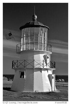 Lighthouse, Shelter Cove, Lost Coast. California, USA
