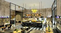 Un bar et un espace VIP à Equip Hotel par Delightfull http://magasinsdeco.fr/bar-espace-vip-equip-hotel-par-delightfull/