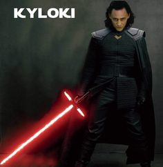 ⚔️⚔️ - This is Ragnarok honey.... whooooh Both Loki and Kylo Ren do have only one thing in common; they are both conflicted!