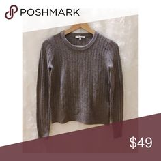 Madewell Merino Wool + Alpaca Blend Sweater SUPER soft!!! In a perfect condition Madewell Sweaters Crew & Scoop Necks