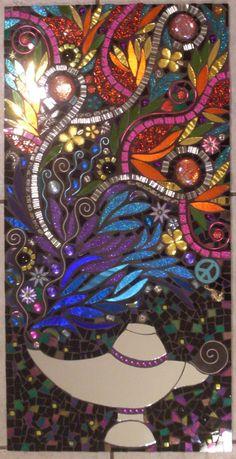 Colorful Handmade Glass Mosaic