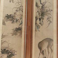 장승업의 화조영모 10폭병풍 국립박물관 전에서 장승업의 거리낌없고 호방한 필묵법이 잘 드러나고~ . An ten-fold folding screen of Birds, Flowers and anmals in Joseon dynasty by Jang Seungeop #국립박물관 #장승업 #화조영모 #미술속도시도시속미술 #国立博物館 #張承業 #八枚屏風 #nationalmuseum