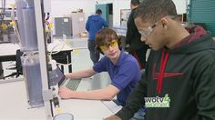 Kent Career Technical Center prepares students for careers in high tech industries.