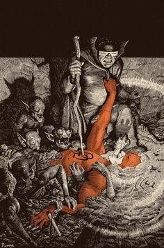 Daredevil (2011) #10 (cover art: Paolo Rivera)