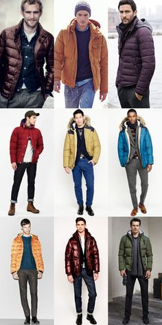 Easy Ways To Wear Colour In Winter : Punchy Puffer Jackets Lookbook Inspiration