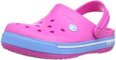 Crocs Cband2.5ClogK, Unisex-Kinder Clogs, Pink (Neon Magenta/Bluebell 6FG), 19/21 EU - http://on-line-kaufen.de/crocs/19-21-eu-crocs-crocband-ii-5-clog-kids-unisex-kinder-5