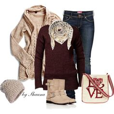 Valentine's Winter, created by shauna-rogers on Polyvore
