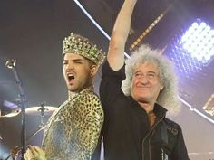 Brian may and adam lambert 2015 in buenos aires argentina