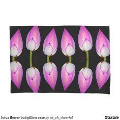 lotus flower bud pillow case