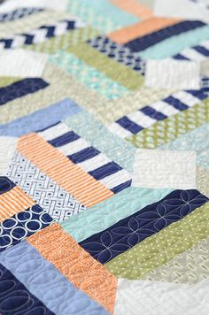 Jellybean quilting by croskelley, via Flickr