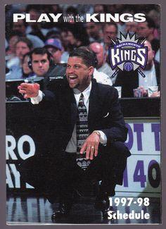 1997-98 SACRAMENTO KINGS U S BANK BASKETBALL POCKET SCHEDULE FREE SHIP #SCHEDULE