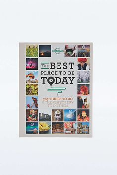 Lonely Planet - Livre Best Place To Be Today - Urban Outfitters