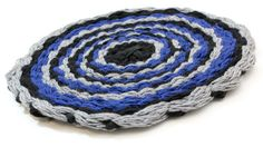 Round, Finger Knit, Hand Woven - Rug, Centre Piece, or Wall Art by jKnitsShop on Etsy. $20.00 CAD, ships worldwide. Finger Knitting, Woven Rug, Mixed Media Art, Decorative Bowls, Centre, Hand Weaving, Ships, Etsy Shop, Wall Art