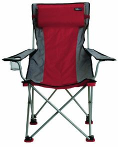 TravelChair Bubba High Back Folding Camp Chair with Pillow Red * Read more  at the image link.(It is Amazon affiliate link) #photooftheday