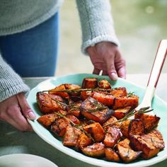 Niomi Smart's Roasted Sweet Potato | Nutrition | Red Online - Red Online