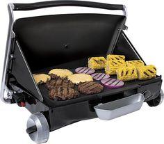 George Foreman - Portable Gas Grill - Black, GP200B