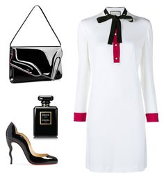 """""""Office style"""" by anastasiiasunny on Polyvore featuring мода, Gucci, Christian Louboutin и Chanel"""