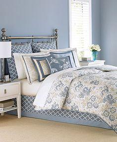 Martha Stewart Collection Villa Fields 6 Piece Comforter Sets