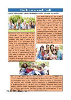 Familien rund um die Welt
