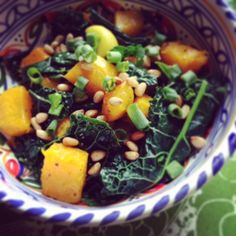Check out this tasty kale & turmeric squash recipe, courtesy of IIN's first-ever National Day of Service!