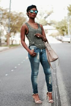 ecstasymodels:  Tankful4Tanks Tank- Express | Jeans- Urban… Visit Her Style Guide for more